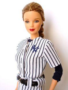 New York Yankees Barbie - 1999