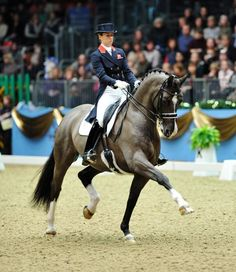 Great extended trot from Charlotte Dujardin on Valegro