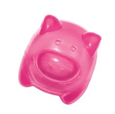 KONG Squeezz Jels Pig Squeaking Dog Toy, Medium (Colors Vary) * Check this awesome product by going to the link at the image. (This is an affiliate link and I receive a commission for the sales) #DogCare