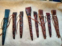 Custom Leather Magic Wand Sheath and Holster by LostWoodsTurningCo