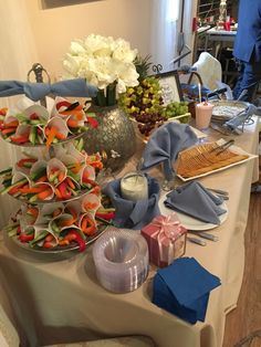 Small bites with From Scratch Catering at Blue Heron Events