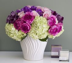 My Beverly Hills Florist presents this amazing Mother's Day arrangement, featuring fragrant Garden Roses, Peonies, Tulips, Hydrangeas and Orchids in a ceramic vase. This burst of seasonal colors is a perfect way to show your mother how much you care, and it makes an excellent gift for other occasions this season as well.My Beverly Hills Florist is the premier online florist for Beverly Hills and the surrounding area. Order flowers online from My Beverly Hills Florist and Los Angeles Florist…
