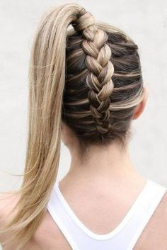 + Popular braided hairstyles for long hair ★ More information: love . + Popular braided hairstyles for long hair ★ Further information: love . + Popular braided hairstyles for long hair ★ Further information: lovehairs. Cute Braided Hairstyles, Teen Hairstyles, Box Braids Hairstyles, Braided Ponytail, Hairstyles Videos, Formal Hairstyles, Cute Hairstyles For Teens, Messy Updo, Hair Updo