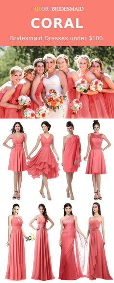 Coral and Green Spring Wedding Color Ideas: White bridal gown, Coral bridesmaid dresses, Coral and green wedding arch and Spring Green lawn, neutral table linens with coral napkins and gold or silver tableware. Wedding Day Shirts, Bridal Party Shirts, Bride Shirts, Cute Wedding Dress, Wedding Attire, Wedding Gowns, Dream Wedding, Casual Wedding, Spring Wedding