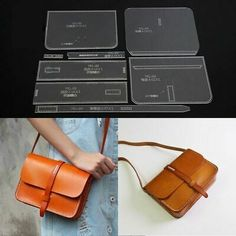 Leather Craft Kits, Leather Diy Crafts, Leather Gifts, Leather Bags Handmade, Leather Projects, Leather Totes, Leather Purses, Leather Wallet Pattern, Sewing Leather