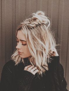 hair looks hairstyles * hair looks . hair looks hairstyles . hair looks color . hair looks medium . hair looks 2020 . hair looks hairstyles medium lengths . hair looks for prom . hair looks curly Fishtail Braid Styles, Twist Braids, Trendy Hairstyles, Natural Hairstyles, Cute Hairstyles For Short Hair, Girl Hairstyles, Prom Hairstyles For Long Hair Half Up, Teenager Hairstyles, Fashion Hairstyles