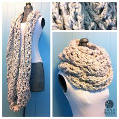 Wordless Wednesday 10 Free Cozy Crochet Infinity Scarf Patterns You Can Make Before Christmas Be sure to click on each image for the ...