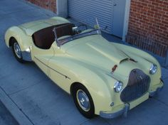 1950 Alvis TB14 Roadster with Chevy V8