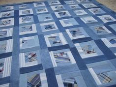 Up Cycled Quilt Top