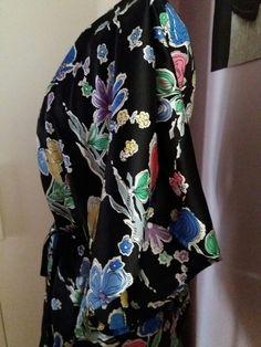 Silk kimono style
