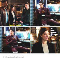 Arrow vs Flash crossover