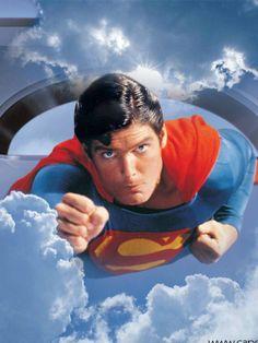 Superman The Movie First Superman, Batman Y Superman, Superman Family, Superman Man Of Steel, Superman Photos, Original Superman, Superman Artwork, Christopher Reeve Superman, Action Comics 1