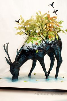 After browsing through the extensive library of the Threadless T-shirt designs which I enjoyed very. Anti Gravity Cake, Gravity Defying Cake, Cake Structure, Foundant, Cool Cake Designs, Sculpted Cakes, Animal Cakes, Painted Cakes, Just Cakes