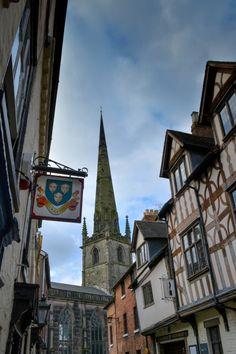 St Alkmund's Church, Shrewsbury, Shropshire, England