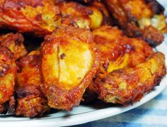 Old Bay Oven Baked Chicken Wings