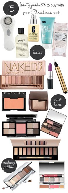 Do you still have Christmas cash or gift cards hanging around? These are the beauty products you should buy!: