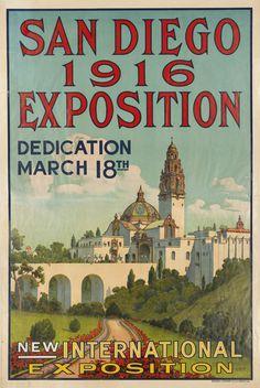 San Diego Exposition, 1916