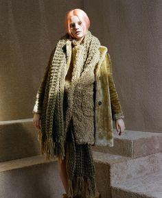 Butter Me Up Faux Fur Jacket, Fuzz Word Coat & Julia Knit Scarf