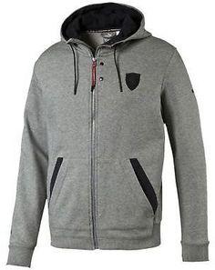 f93d1a9f140 Buy PUMA Ferrari Hooded Jacket XXL Medium Gray Heather online | eBay