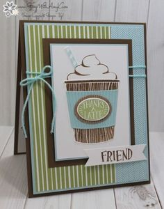 Stampin' Up! Coffee Cafe for the Happy Inkin' Thursday Blog Hop – Stamp With Amy K
