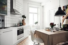 Kreativa Kvadrat: Ännu en inspirerande lägenhet från Fantastic Frank!