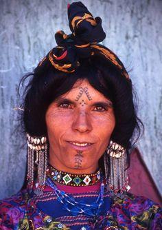 moroccan berber tattoo - Google Search