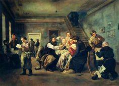 А.А.Попов. Харчевня. 1860-е. | художники и их картины | Постила