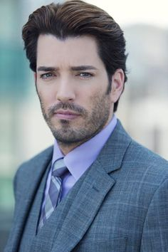 With this look alone can melt your underwear right off!! Jonathan Scott...i'm leaving the comment from whoever pinned this before, because i know it describes how you feel about him.