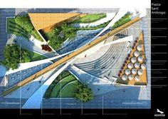 RIQUALIFICAZIONE PIAZZA SANT'AMBROGIO ~ DesignDaily Network