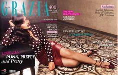 Grazia Magazine November 2013 - Sonakshi Sinha