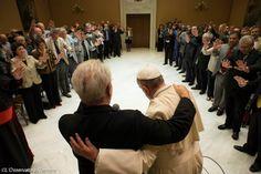 Pape François - Pope Francis - Papa Francesco - Papa Francisco - Rencontre privée avec un groupe de pasteurs pentecôtistes