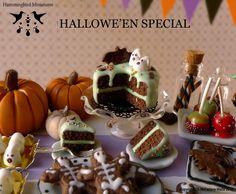 Halloween Miniatures | Hallowe'en has arrived for Hummingbird Miniatures!