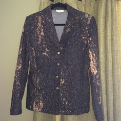 St. John Blazer! Beautiful and elegant! Pictures don't do this piece justice. Would look great over a dress or jeans. Super versatile piece! St. John Jackets & Coats Blazers