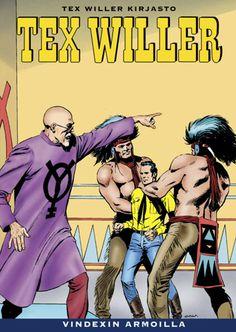 Tex Willer Kirjasto: Tex Willer - Vindexin armoilla