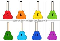 The Pinay Homeschooler: FREE Musical Hand Bell Cards