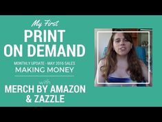 My First Print on Demand Monthly Update: Making Money with Merch by Amazon and Zazzle .::. So this video is a little bit of a departure for my channel. Besides reselling I'm dabbling in selling print on demand products using Merch by Amazon and Zazzle and will be putting out monthly videos to provide updates on my sales and progress for anyone who is interested in these other streams o .::. #antiques #resell #thrifting rt trello
