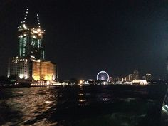 River trip to Asiatique.  Bangkok, Thailand.