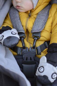 secure harness for your little one - stokke trailz stroller. via Pretty Pleasure Blog
