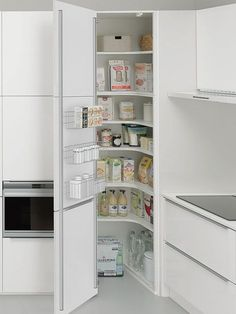 Ideas Kitchen Corner Pantry Layout Interior Design For 2019 Kitchen Corner Cupboard, Corner Pantry, Kitchen Pantry Cabinets, Storage Cabinets, Kitchen Storage, Kitchen Organization, Kitchen Counters, Larder Cupboard, Corner Storage