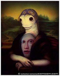 Naoto Hattori Mutant Mona Lisa - La Joconde Surrealiste