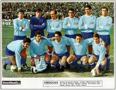 Equipos de fútbol: SELECCIÓN DE URUGUAY contra Chile 10/08/1969