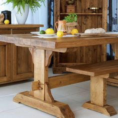 The San Quentin Lyell Dining Table