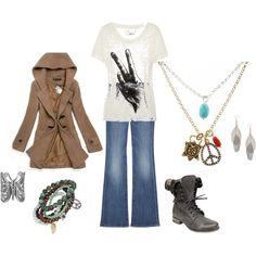 Cute Hippie Outfit