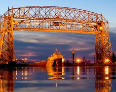 Love watching the big ships in Duluth!