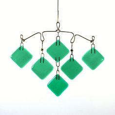 Small Wide Chandelier Mobile 1