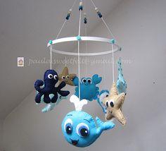 ♥♥♥ Móbile do Mar Azul ...