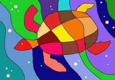 arteascuola: Ideas to work on the warm and cool colours Fall Art Projects, School Art Projects, Color Art Lessons, Square 1 Art, Easy Art For Kids, Value In Art, Warm And Cool Colors, Madhubani Art, Ocean Art