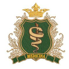 ESCUDO MEDICINA 2 Med School, Studying, Team Logo, Stamps, Medicine, Logo Design, Artsy, Future, Wallpaper