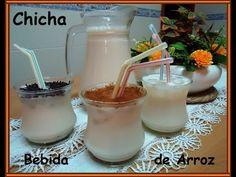 YouTube Comida Latina, Condensed Milk, Glass Of Milk, Sprinkles, Food To Make, Smoothies, Drinking, Alcoholic Drinks, Juice