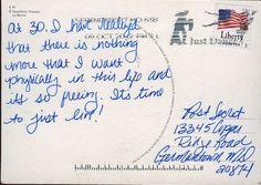 Classic Secrets – PostSecret Post Secret Funny, Secret And Whisper, Wise Up, Secrets Revealed, Life Inspiration, One Sided, Thought Provoking, Wise Words, The Secret